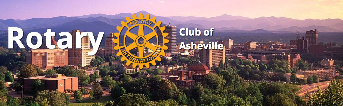 Benji Burrell is a Proud member of the Rotary Club of Asheville